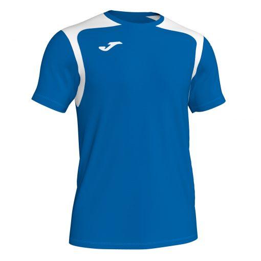 Maillot bleu blanc Joma, championship 5, foot, futsal, hand, volley