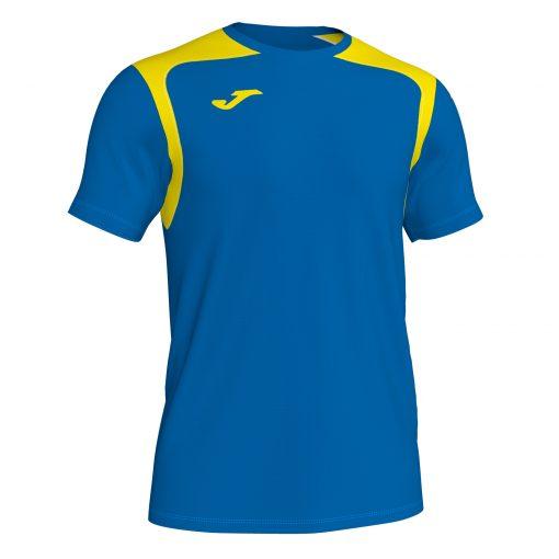 Maillot bleu jaune, Joma, championship V, hand, volley, futsal, foot