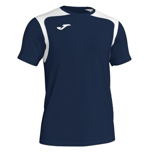 Maillot bleu marine blanc, Joma, championship 5, volley, hand, foot, futsal