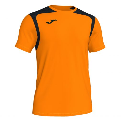 Maillot Orange fluo Noir, Joma, championship V, hand, foot, futsal, volley