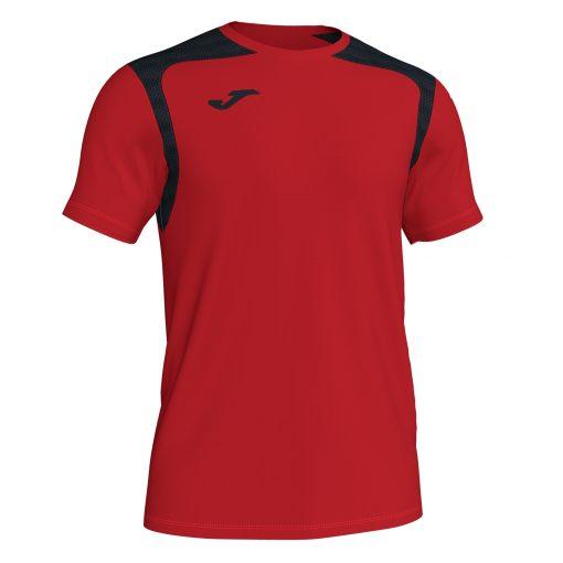 Maillot rouge noir Championship V Joma, hand, foot, futsal, volley