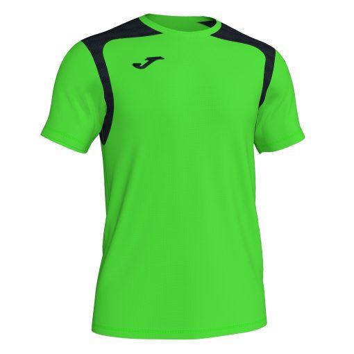 Maillot vert fluo Joma, Championship V, foot, futsal, hand, volley