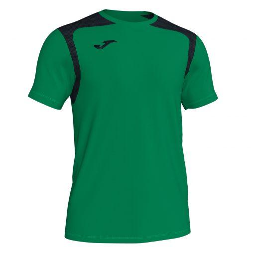 Maillot vert noir Joma, Championship V, hand, volley, futsal, foot