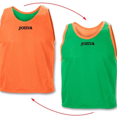 Chasuble reversible orange vert Joma