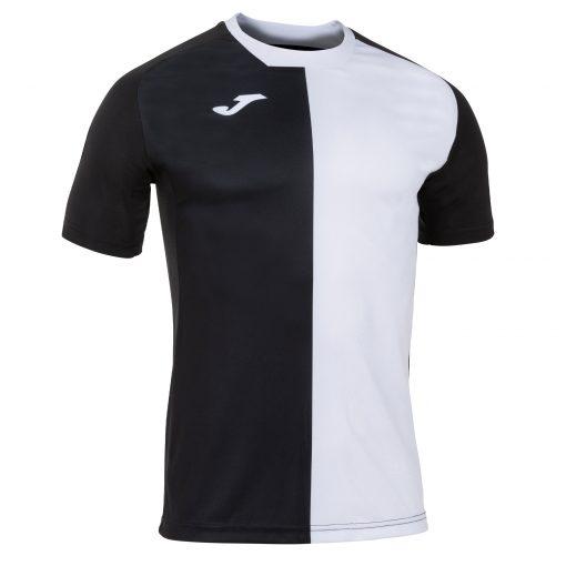 Maillot noir blanc Joma, city, foot, futsal, hand, volley