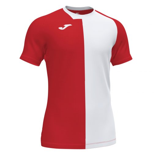 Maillot Rouge blanc city Joma, foot, futsal, hand, volley
