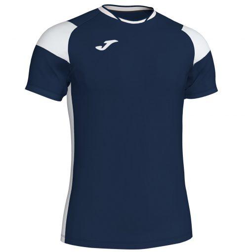 Maillot bleu marine Blanc Joma, crew III, hand, volley, foot, futsal