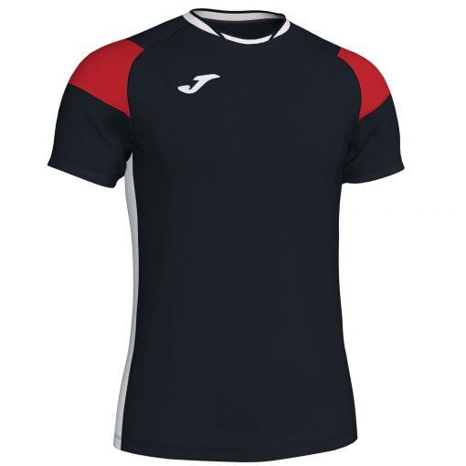 Maillot noir rouge Joma, foot, futsal, hand, volley