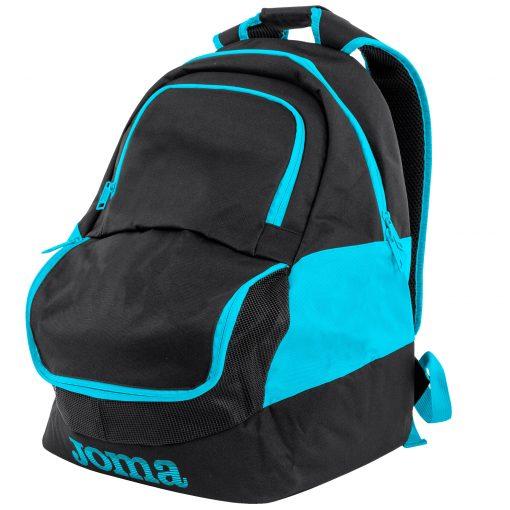 sac à dos, sac de sport, turquoise, bleu turquoise, compartiment chaussures