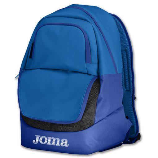 sac à dos, sac de sport, bleu, compartiment chaussures