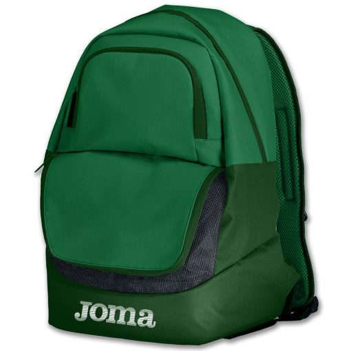sac à dos, sac de sport, compartiment chaussures, vert
