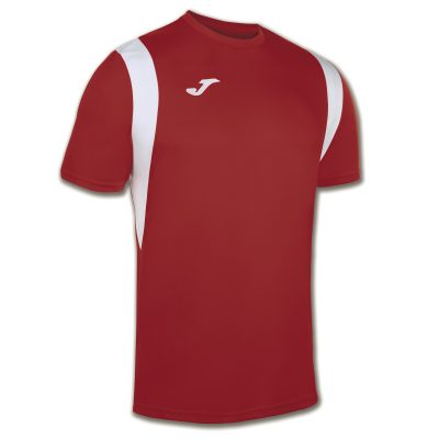 maillot rouge blanc, Joma, futsal, foot, hand, dinamo