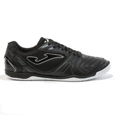 Joma, dribling, chaussure, futsal, noir