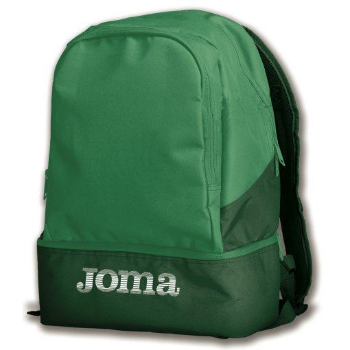 sac à dos, sac de sport, vert, compartiment chaussures