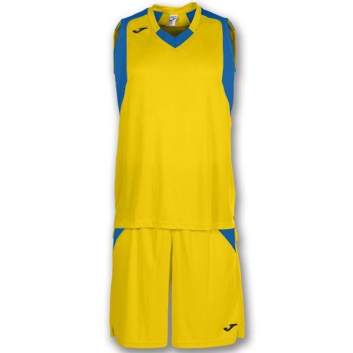 set jaune bleu, basket, Joma, final