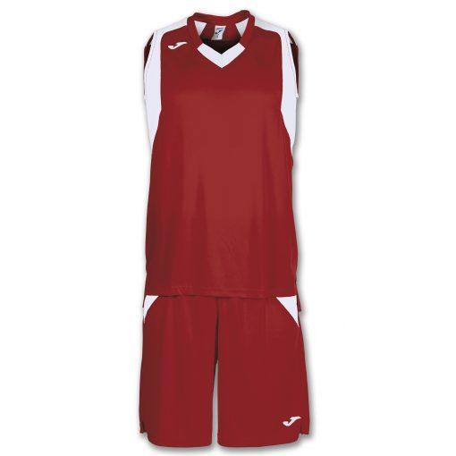 maillot short basket, Joma, rouge blanc, Final