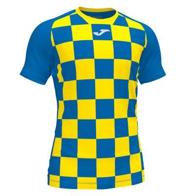 Maillot jaune bleu Joma, flag 2, futsal, hand, volley, foot