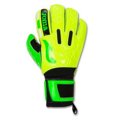 gants gardien, foot, futsal, Joma, jaune fluo, premier 20