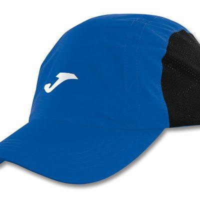 Casquette Bleu running, microfibre, Joma