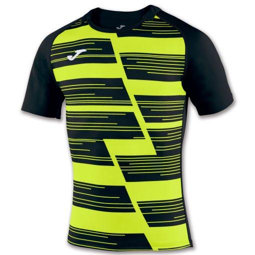 maillot rugby jaune noir, Joma, haka