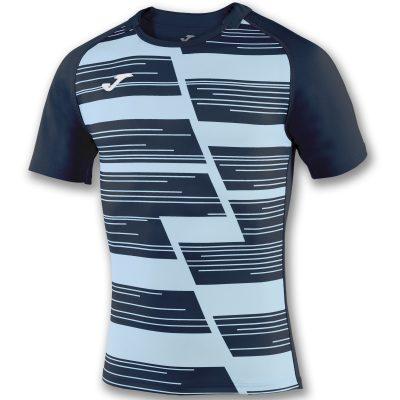 maillot bleu marine, bleu ciel, haka, rugby, Joma