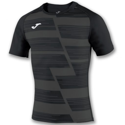 maillot gris noir rugby Joma, Haka
