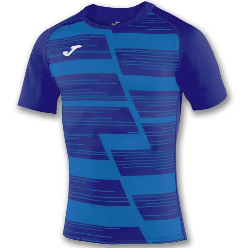 Maillot bleu, bleu marine, rugby, Joma, haka