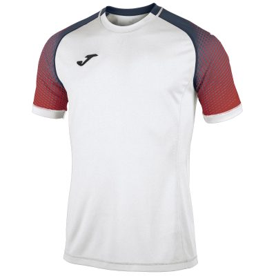Maillot Blanc rouge hispa, Joma, volley, hand