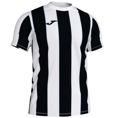Maillot rayé noir blanc Joma, Inter, foot, futsal, hand, volley