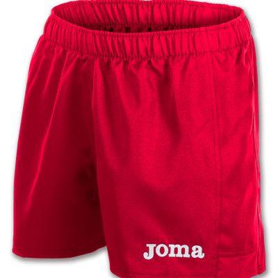 Short rugby rouge, Joma, myskin