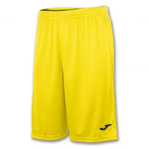 Short long, jaune, Joma, basket