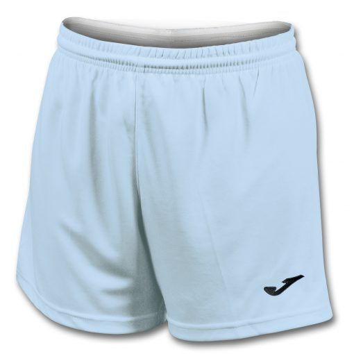 Short bleu ciel, Joma, femme, hand, foot, futsal, cricket, volley