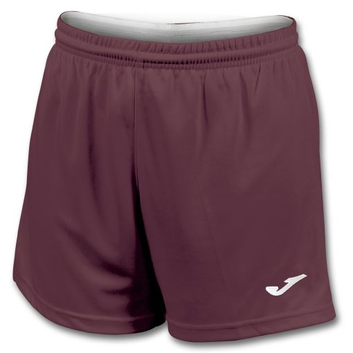 Short grenat femme, Joma, foot, futsal, hand, volley, cricket