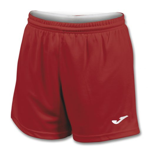 Short rouge Joma, femme, paris II, volley, cricket, hand, foot, futsal