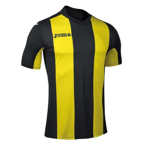 Maillot jaune noir rayé Joma, foot, futsal, hand, volley