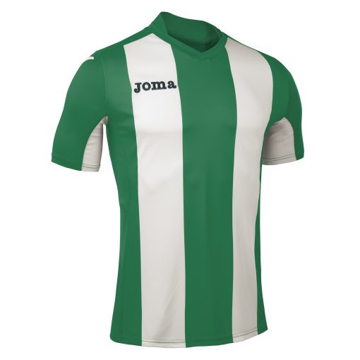 Maillot rayé vert blanc, Joma, pisa, foot, futsal, hand, volley