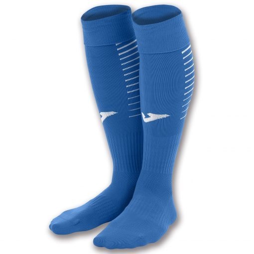 Chaussettes bleu Joma, premier, foot, futsal, rugby