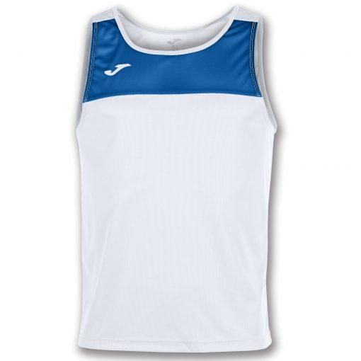 Maillot sans manche blanc bleu, Joma, race, beach handball, beach volley, running, beach tennis, beach soccer