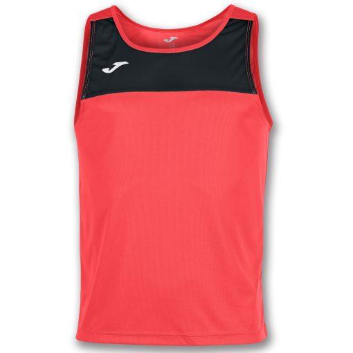 maillot corail noir, sans manche, Joma, beach soccer, beach rugby, beach tennis, beach volley, beach handball, Joma