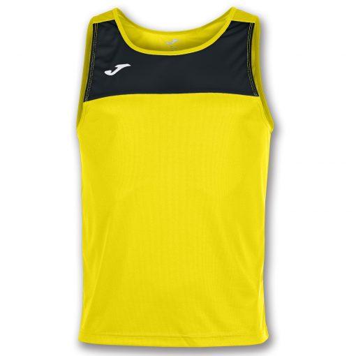 maillot jaune noir, sans manche, Joma, race, beach tennis, beach volley, beach soccer, beach handball, beach rugby