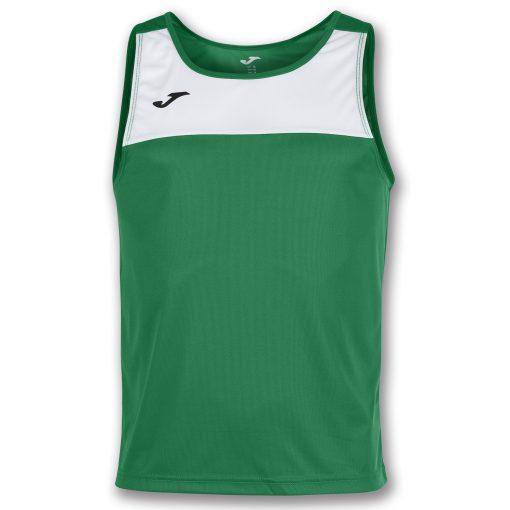 maillot vert blanc, sans manche, Joma, race, beach volley, beach soccer, beach volley, beach handball, beach rugby, beach tennis
