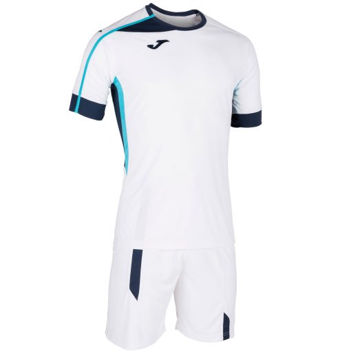 Set Roma II Joma, maillot + short, blanc, foot, futsal, hand, volley