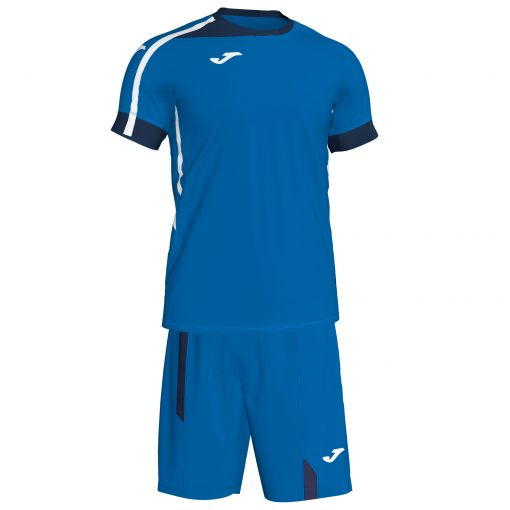 Set bleu Joma, maillot + short, Roma II, Foot, futsal, hand, volley