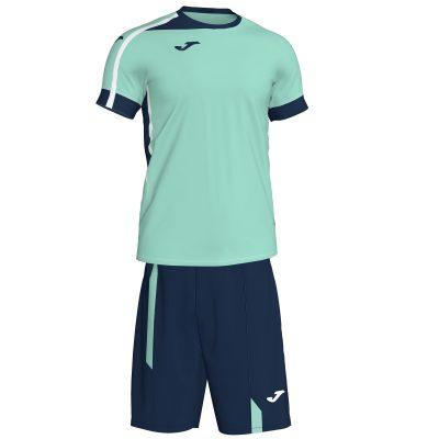 Set vert Joma, maillot + short, Roma II, volley, hand, foot, futsal
