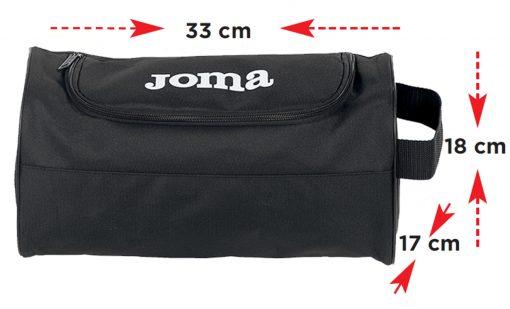 sac, sac à chaussures, Joma, noir