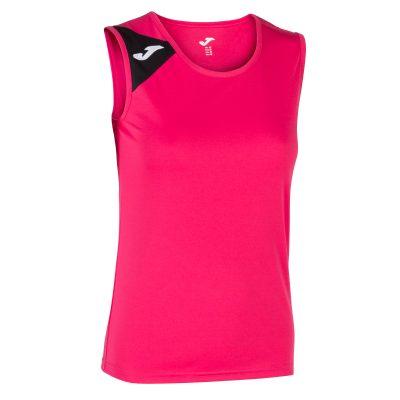 t-shirt blanc sans manche femme Joma, Spike II, volley, foot, futsal, hand