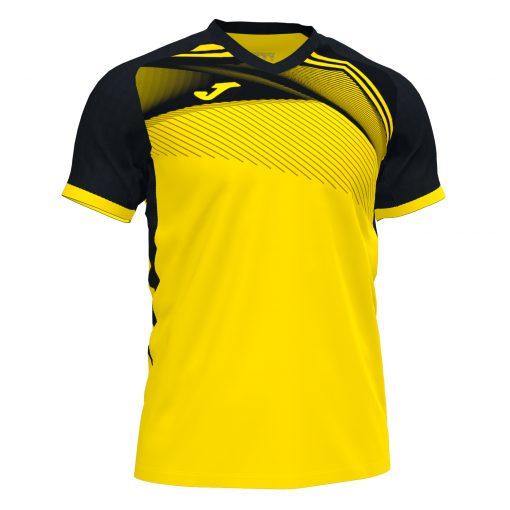 Maillot jaune noir Joma, supernova, hand, foot, futsal, volley