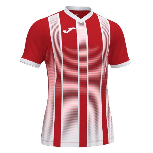 Maillot rouge blanc Joma, foot, futsal, hand, volley, Tiger II
