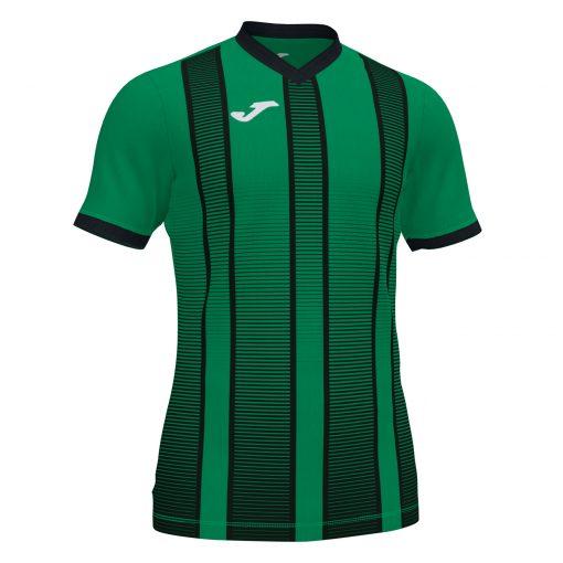 Maillot vert Joma, rayures, tiger II, foot, futsal, volley, hand