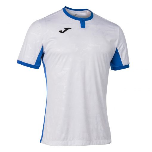 Maillot blanc Joma Toletum 2, homme, foot, futsal, volley